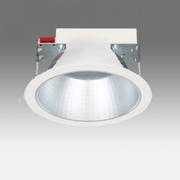 SEGON LED 18W ED 1900lm/840 MAT IP44 UGR <19 70° white