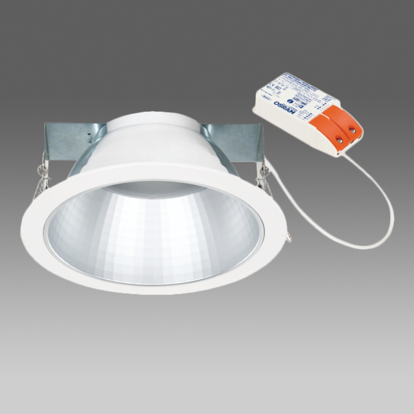 SEGON LED 26W DALI 2700lm/830 MAT IP44 70° white GEN.2