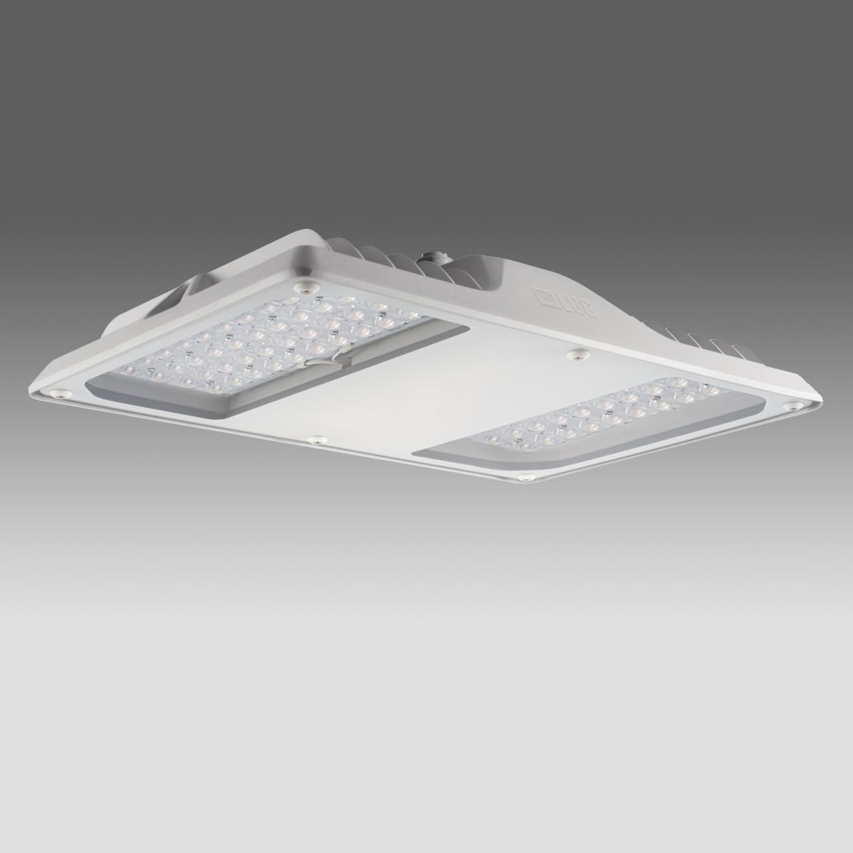 Arktur Square LED PLUS 205W 24650lm/740 ECG IP66 120x40°gray