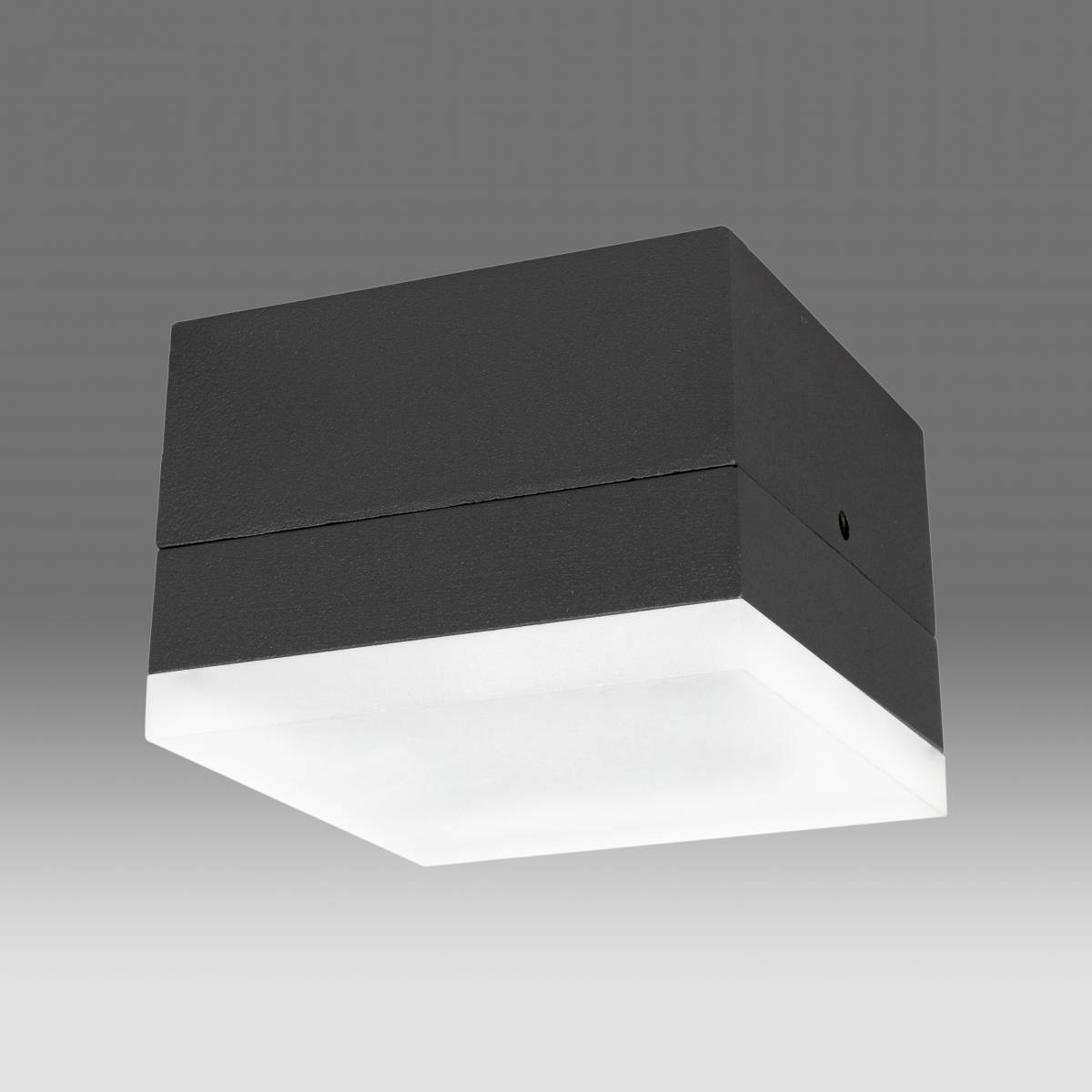 Zelda LED Square Medium 10W 650lm 3000K IP54 anthracite
