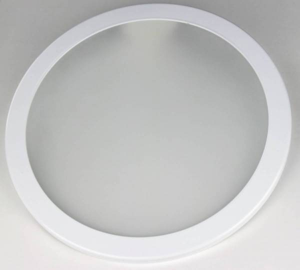 ERM 200 LED glass IP44 opal with mounting ring