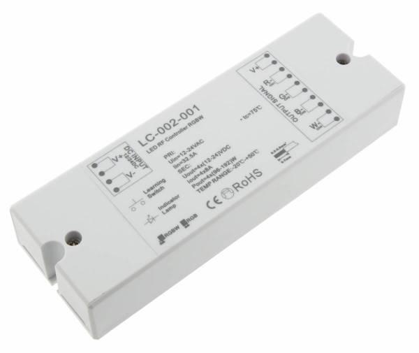 Controller RF RGBW LED Reciever