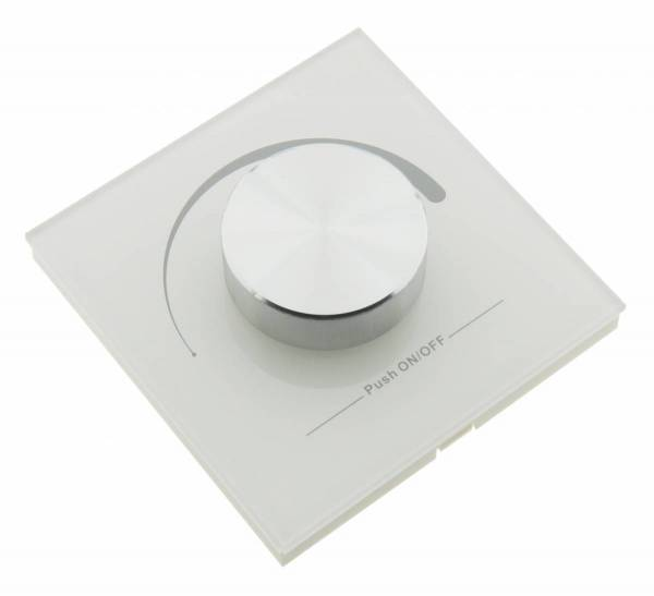 LED RF Controller Mono - wall transmitter white