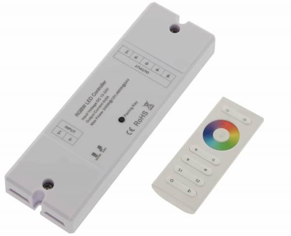 LED RF Controller RGBW Set Receiver + remote control