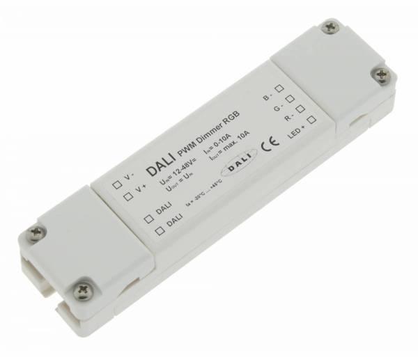 Dimmer DALI PWM RGB LED, 10A, 120W/12V, 240W/24V