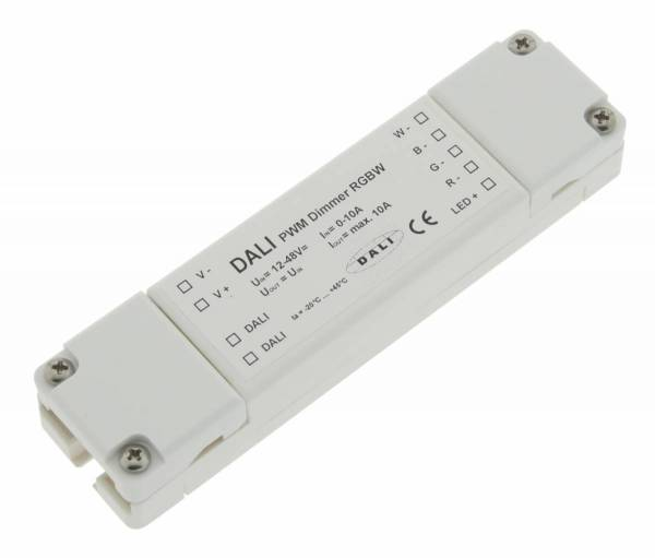LED DALI PWM Dimmer RGBW
