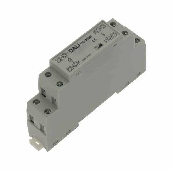 DALI PD Universaldimmer 300W DIN Rail mounting