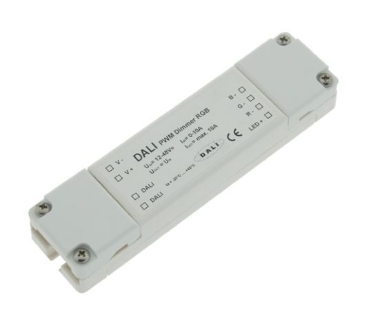 LED DALI PWM Dimmer RGB  DT8 (Device Type 8)
