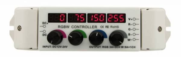 LED Rotary Dimmer RGBW