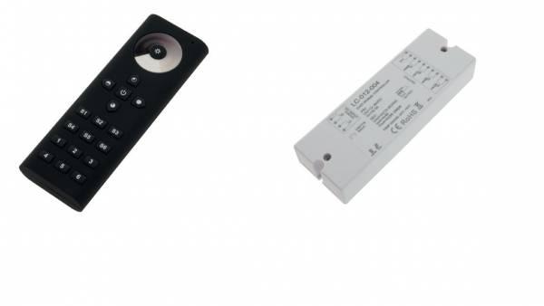 LED RF WiFi Controller Mono remore controller- 6 Zonen Black