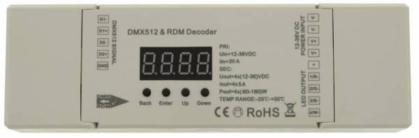 LED DMX/RDM Decoder RGBW (4CH)