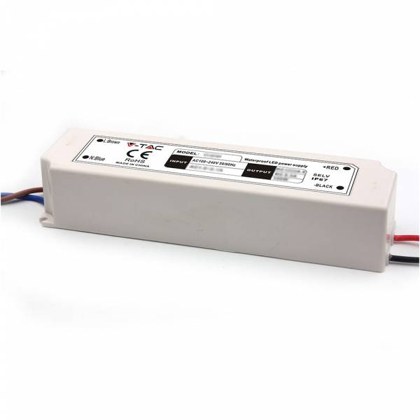 LED Driver, 150W SLIM IP67 12V
