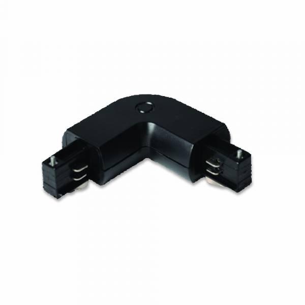 elbow for tracksystem series V-TAC, black