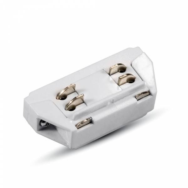 Mini connector for  tracksystem series V-TAC, white