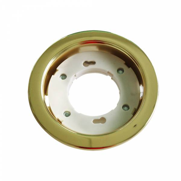 Recessed spot GX53 round, gold