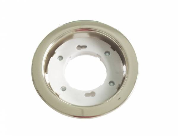 Recessed spot GX53 round, chrome