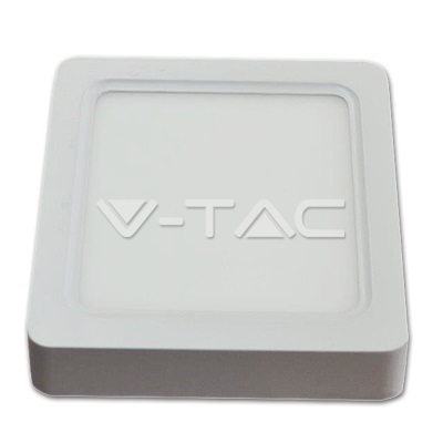 LED Surface Panel 15W 830, 1500lm, Square, IP20, white
