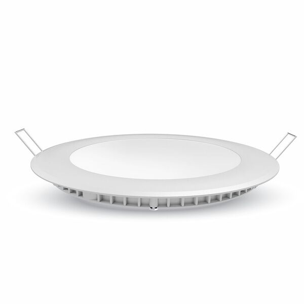 LED Premium Panel Downlight 18W - round 4000K, 1500lm, 120°