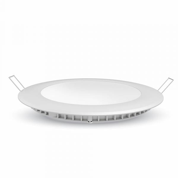 LED Premium Panel Downlight 24W - round 6400K, 2000lm, 120°