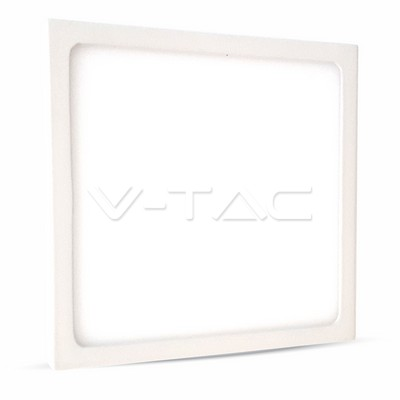 LED Surface Panel 12W 830, 900lm, Square, IP20, white