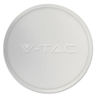 LED Surface Panel 18W 830, 1440lm, Round, IP20, white