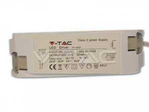Driver for V-TAC LED Panel 45W dimmable
