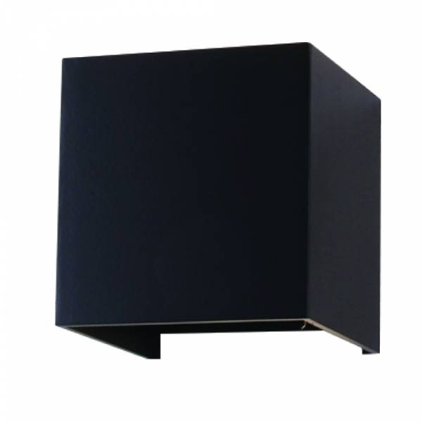 Bridgelux LED 6W 600lm 3000K 220-240V IP65 120° black