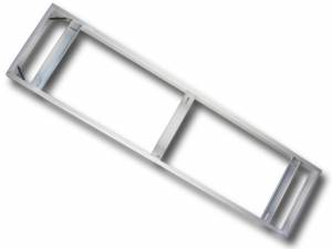 Case for External Mounting, 1200x300 mm, white, Serie V-TAC