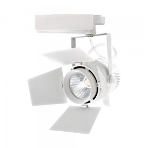LED Track Spot 33W 2640lm 3000K adjustable 24°-60° white