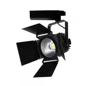 LED Track Spot 33W 2640lm 3000K adjustable 24°-60° black