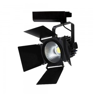 LED Track Spot 33W 2640lm 5000K adjustable 24°-60° black
