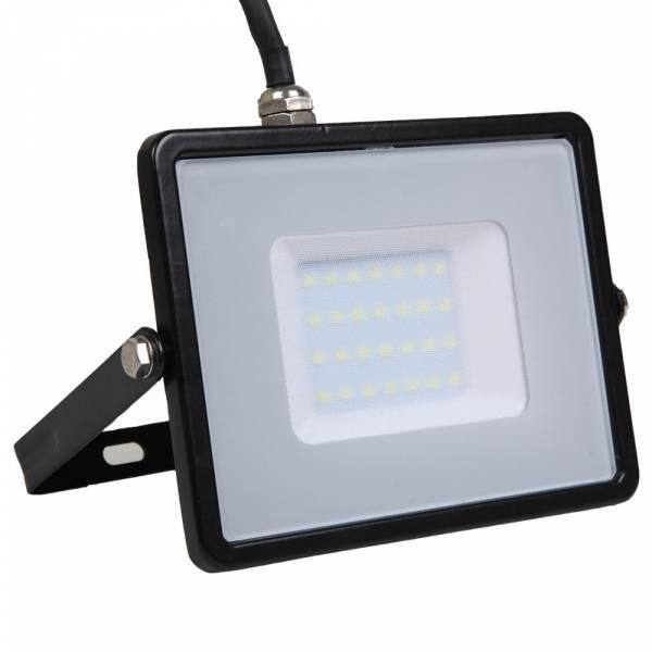 LED Floodlight 30W 2400lm 6400K 220-240V IP65 100° black