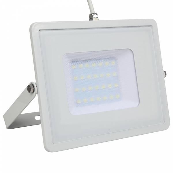 LED Floodlight 30W 2400lm 6400K 220-240V IP65 100° white