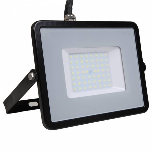 LED Floodlight 50W 4000lm 6400K 220-240V IP65 100° black