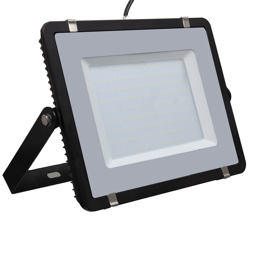 LED Floodlight 200W, 840, 16000lm, IP65, 230V, black