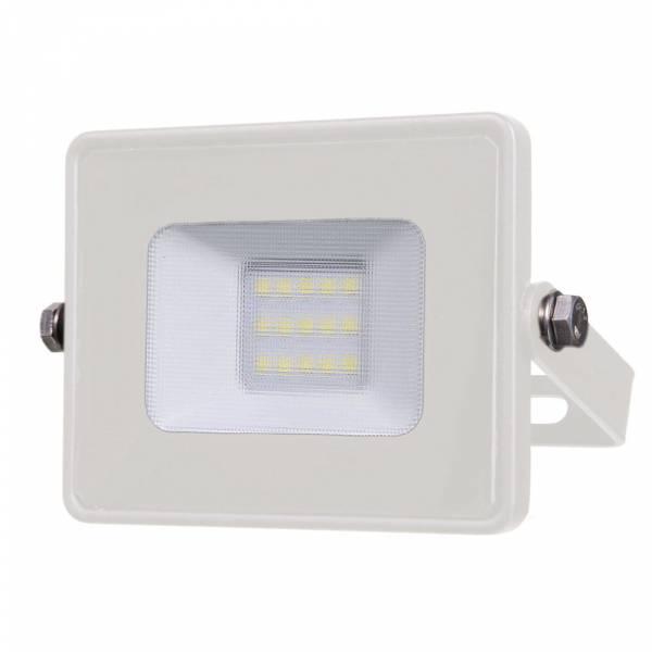 LED Floodlight 10W 800lm 3000K 220-240V IP65 100° white