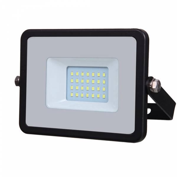 LED Floodlight 20W 1600lm 6400K 220-240V IP65 100° black