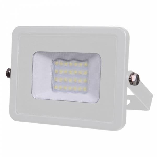 LED Floodlight 20W 1600lm 3000K 220-240V IP65 100° white