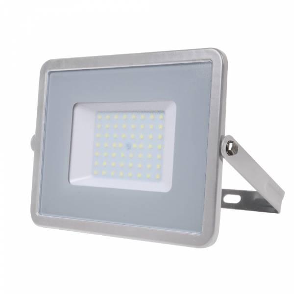 LED Floodlight 50W 4000lm 3000K 220-240V IP65 100° grey