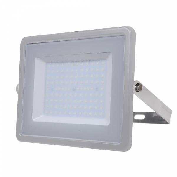 LED Floodlight 100W 8000lm 4000K 220-240V IP65 100° grey