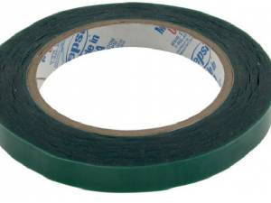 A12 Green Polyester Masking Tape 11mm wide, 66m long