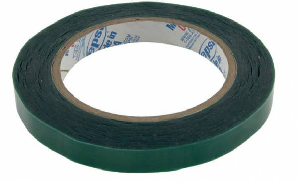 A12 Green Polyester Masking Tape 16mm wide, 66m long
