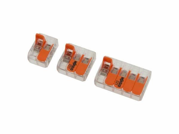 Wago triple connector