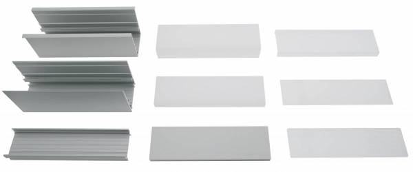 LED Profile sample set MF Serie