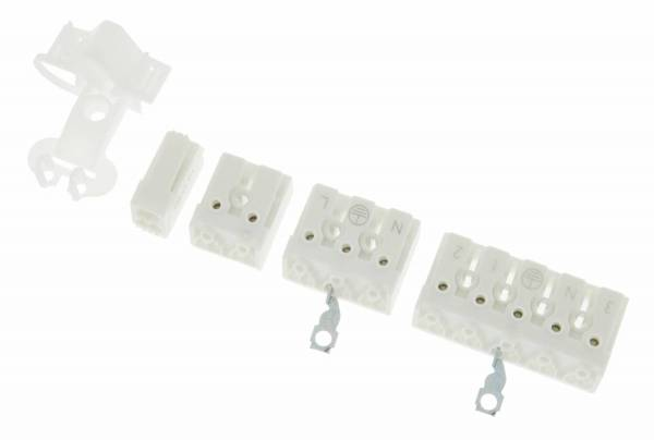 lamp clamp 3 pole incl. Earthing tag