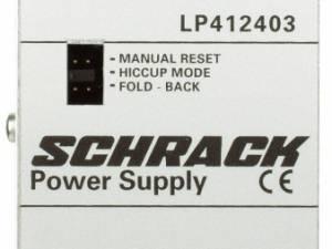 Single-phase Power Supply pulsing, 230VAC/12VDC, 5A at 50°C