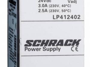 Single-phase Power Supply pulsing,230VAC/24VDC, 2,5A at 50°C