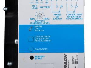 Single-phase Power Supply pulsing, w. UPS, 230VAC/24VDC, 5A