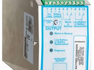 Single-phase Power Supply pulsing, w.UPS, 230VAC/24VDC, 10A