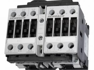 Reversing Contactors Assembliy, 11kW, AC3, 230VAC, size 0